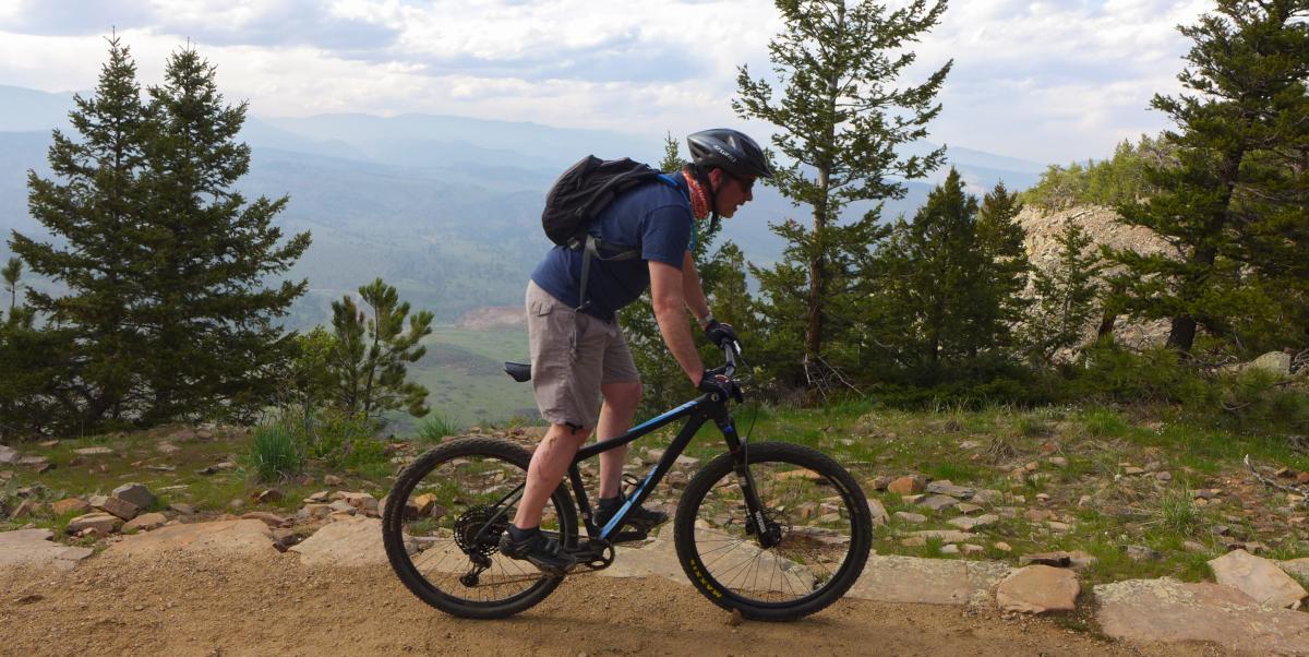 Wild Turkey Trail Boulder Mountain Biking