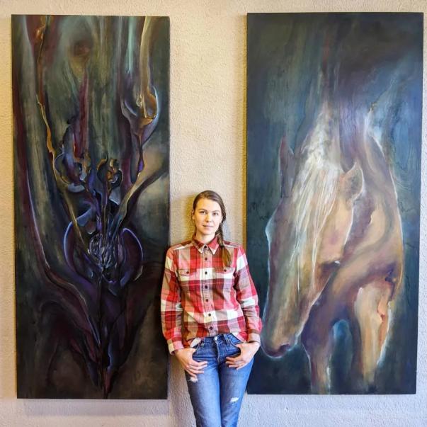 Anna Shcherbakova, owner Bakova Gallery