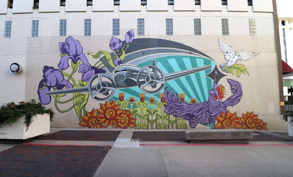Garvey Center Mural
