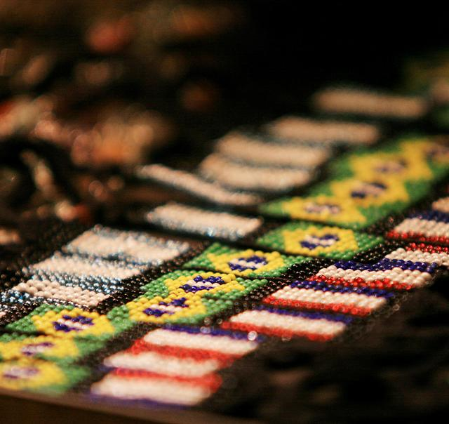 Artisan Beaded Flags