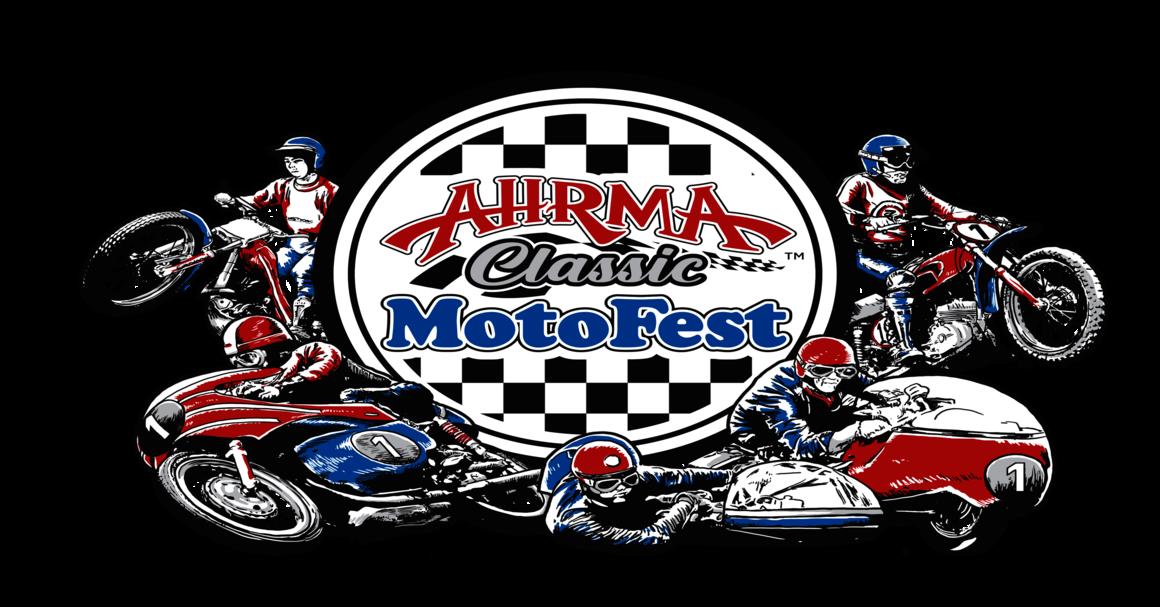 AHRMA Classic MotoFest Banner Logo Image | Topeka, KS