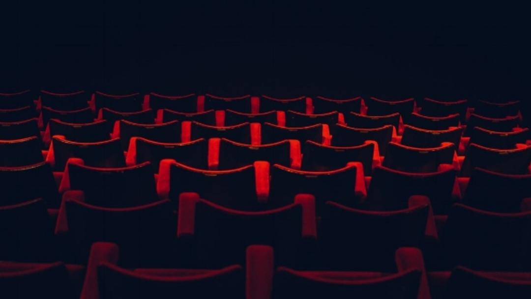 Theater seats empty