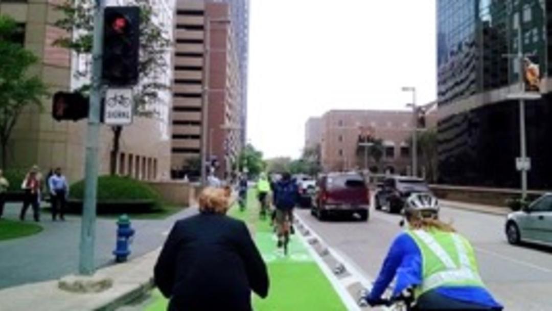 Lamar Street Bike Lane