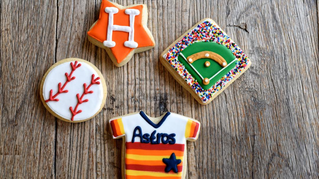 Astros Cookies at Ooh La La Bakery