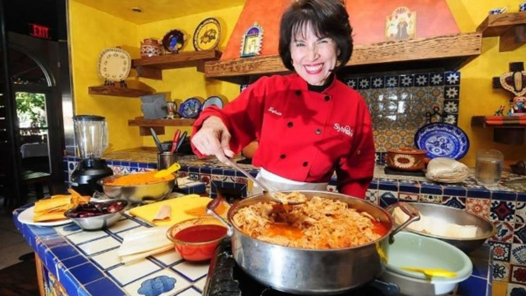 Sylvia cooking class