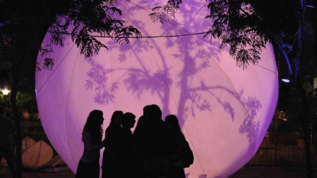 Discovery Green Moon Garden