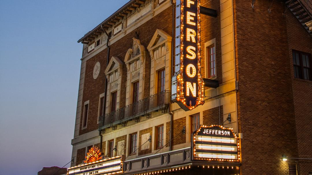 Jefferson Theatre in Beaumont