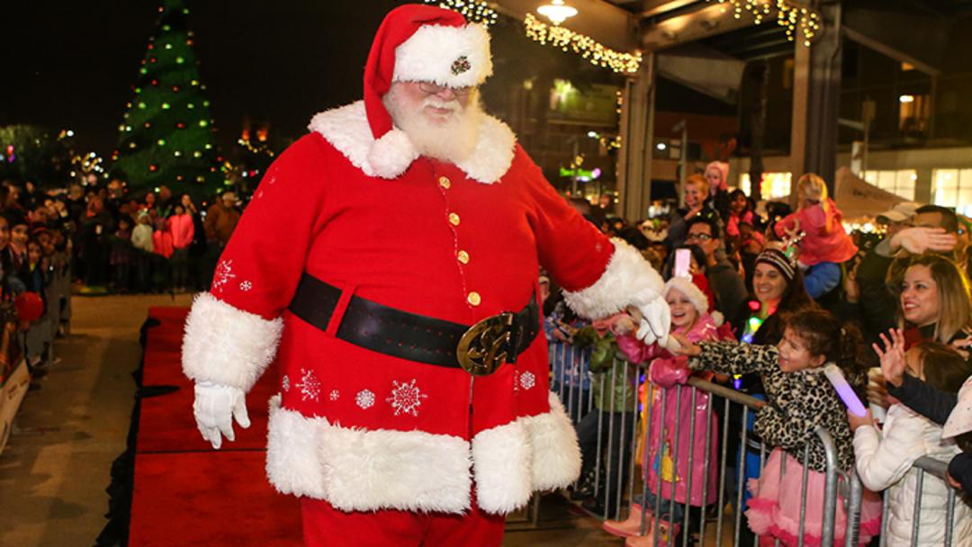Pearland Santa