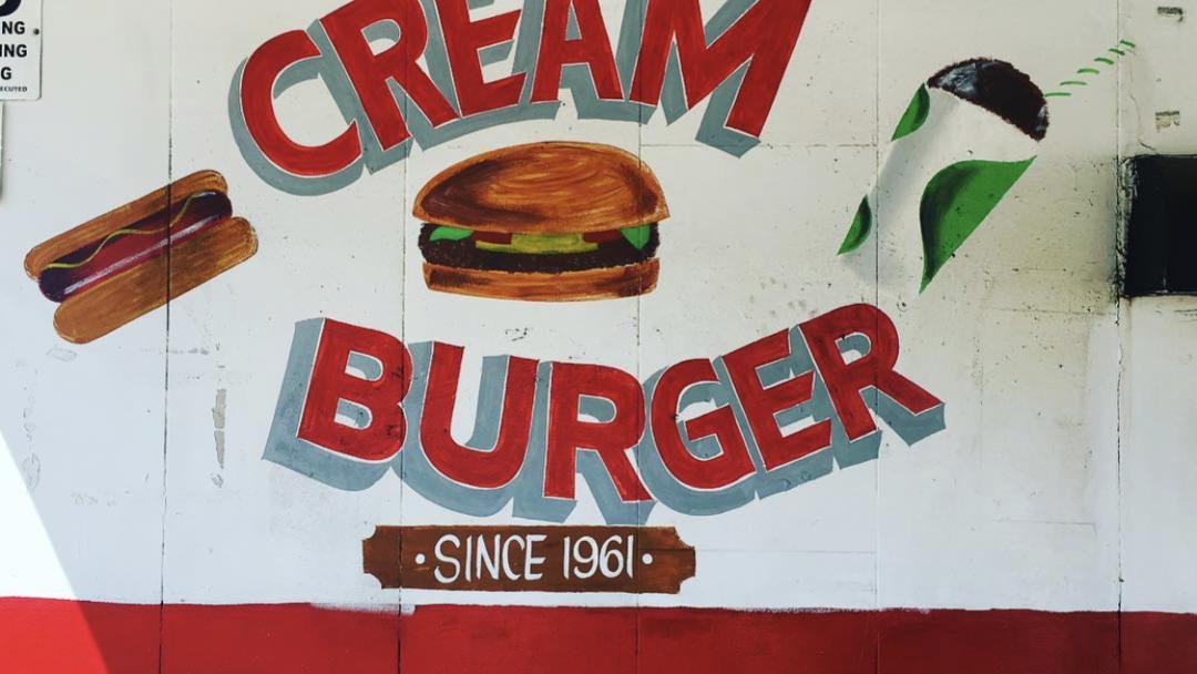 Cream Burger