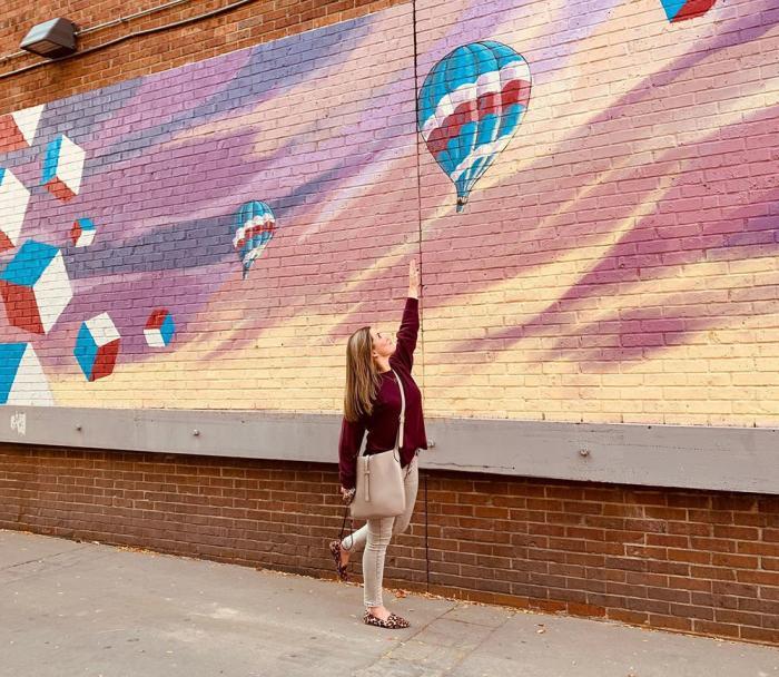 Murals in downtown Ann Arbor