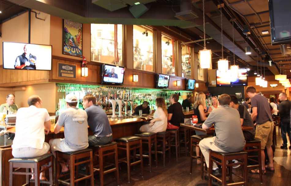 Rock Bottom Restaurant & Brewery in Denver.