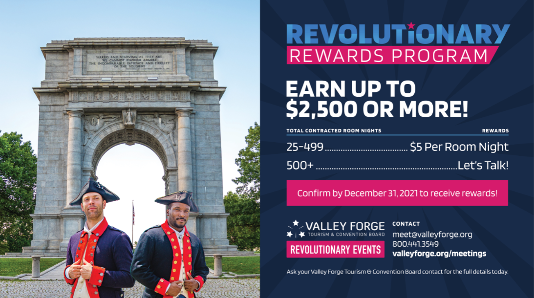 Revolutionary Rewards Program 2021