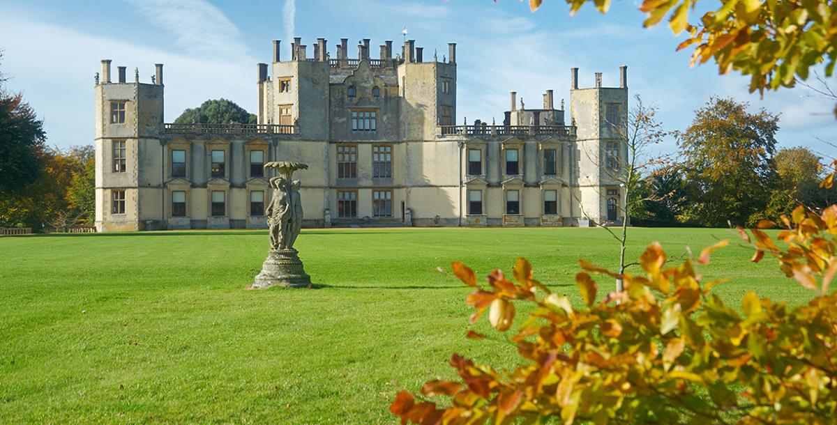 Grounds and exterior of Sherborne Castle
