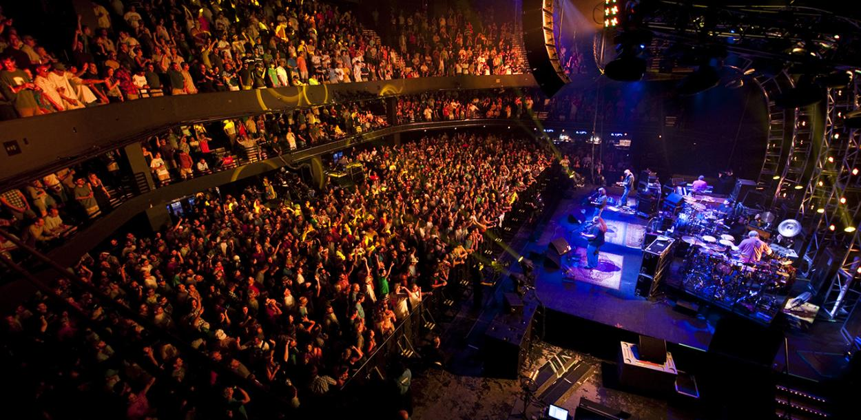 ACL Live Moody Theater Venue stage and crowd