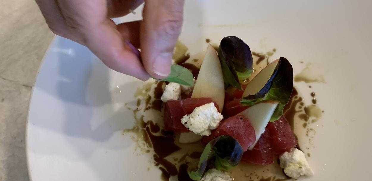 Tyson Coles Sashimi recipe