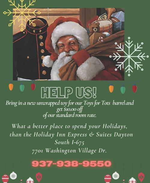 Holiday Inn Express & Suites Toys for Tots