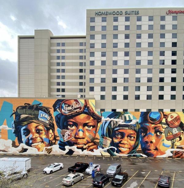 The Mural at Homewood Suites & Hampton Inn
