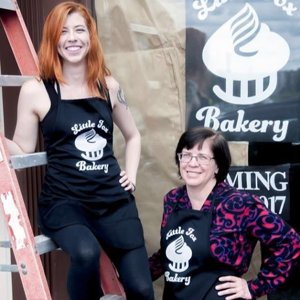 Alison and Diane Taylor of Little Fox Bakery