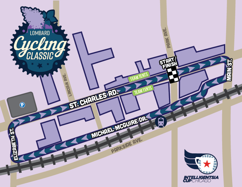 2021 Lombard Cycling Course