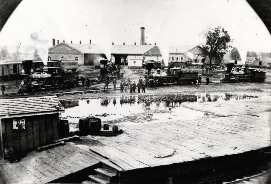 Railroads Captured Huntsville Al