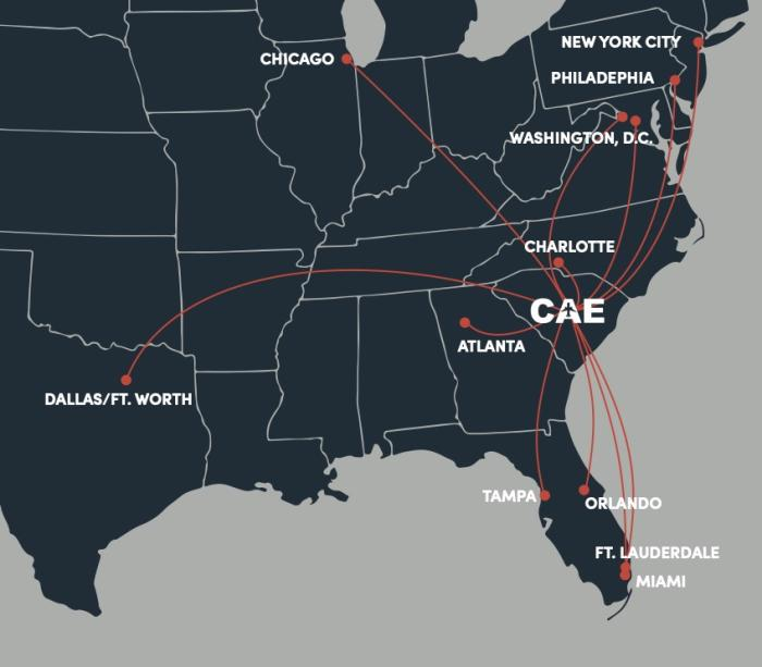 CAE Map Branded - No Key West
