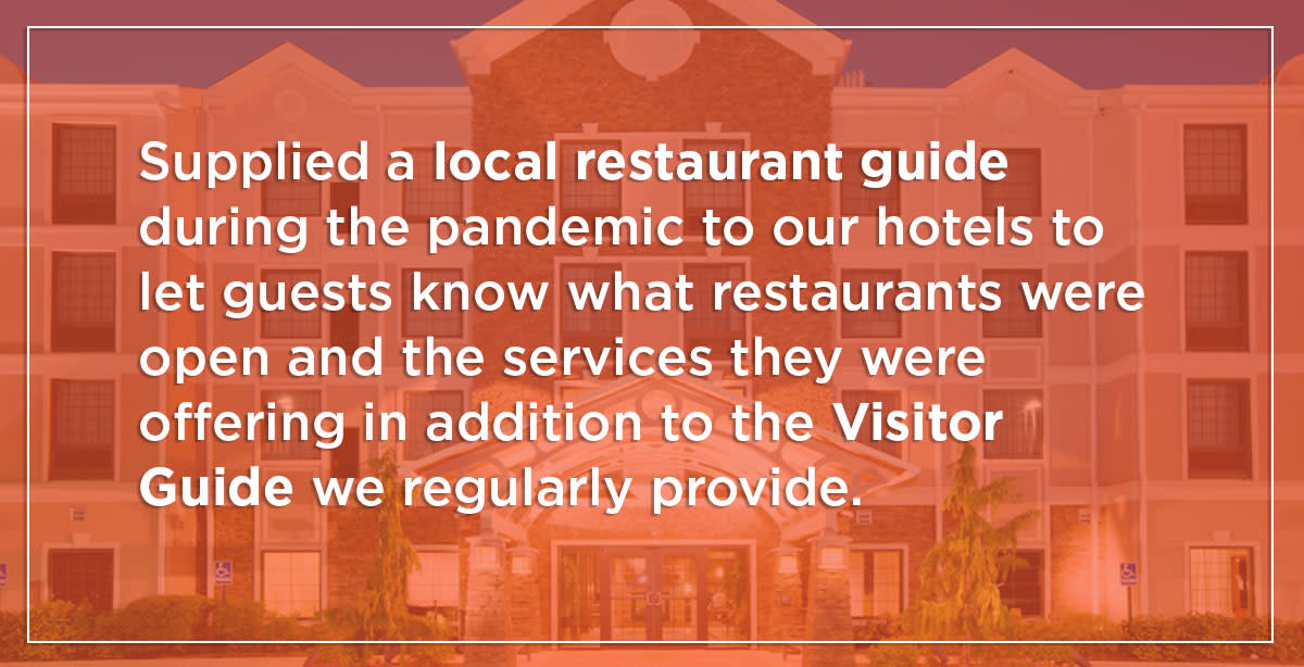 Visit Hendricks County Offers Free Services to Help Local Hotels
