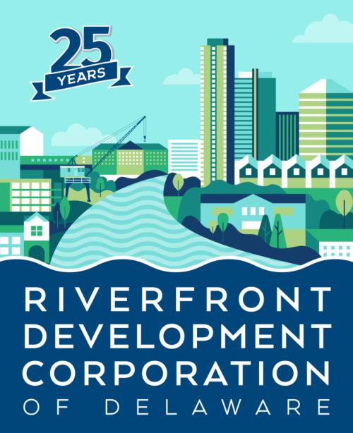 Riverfront 25th Anniversary Logo