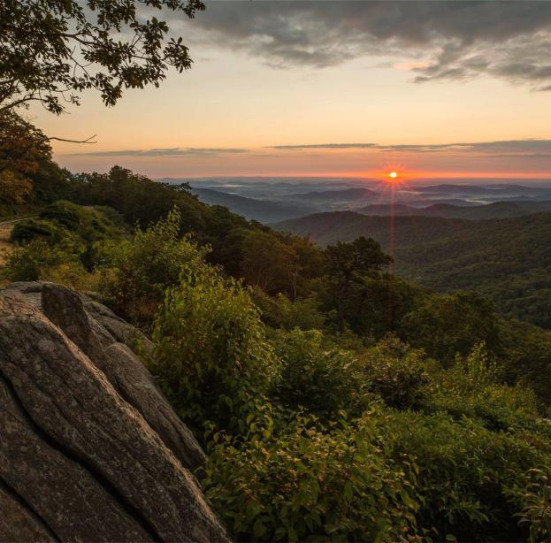 Shenandoah Summer Sunset