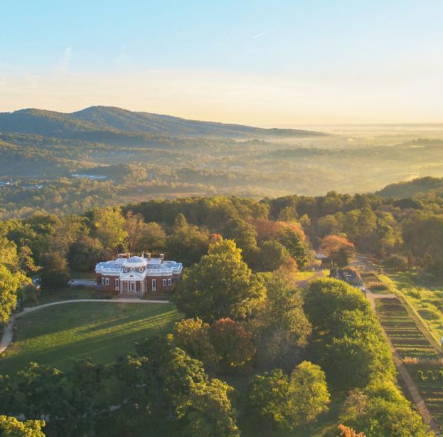 Monticello aerial photo