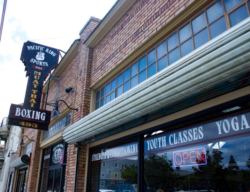 Pacific Ring Sports Outdoor Sign