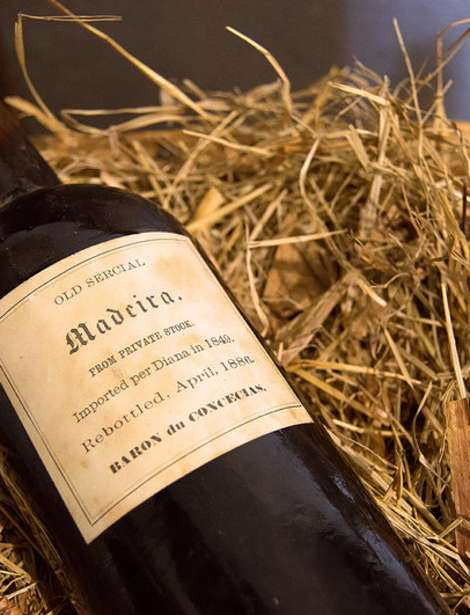 Madeira Wine bottle