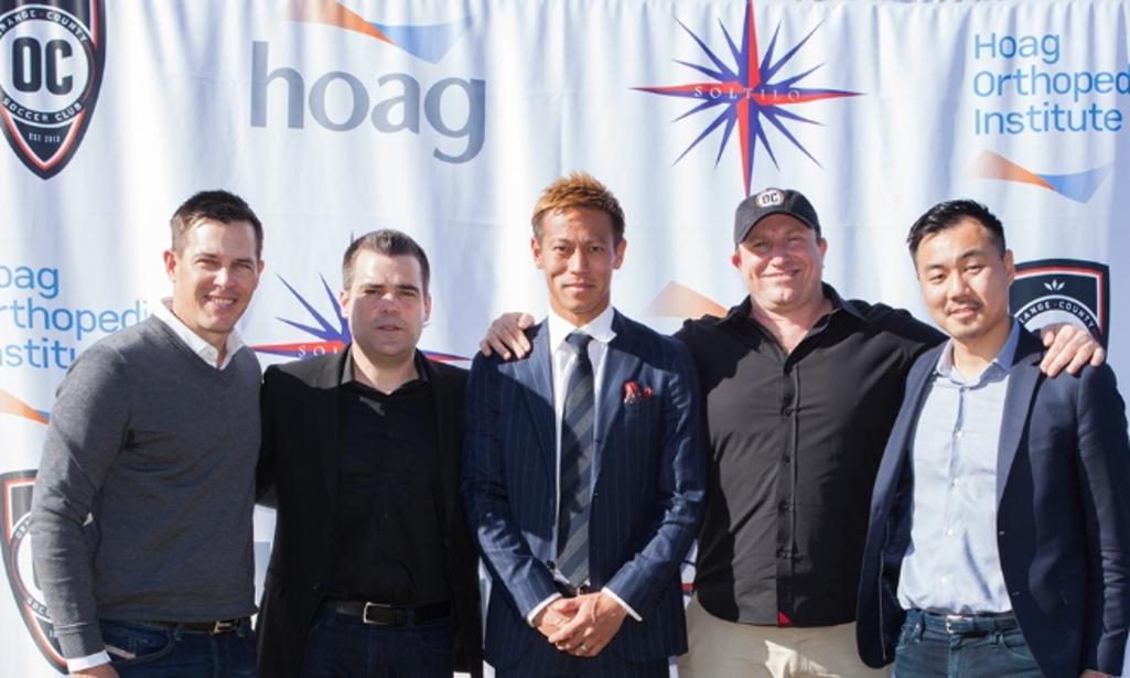 6d7fac3d24d2ec Japanese Superstar Keisuke Honda Partners with OC Soccer Club