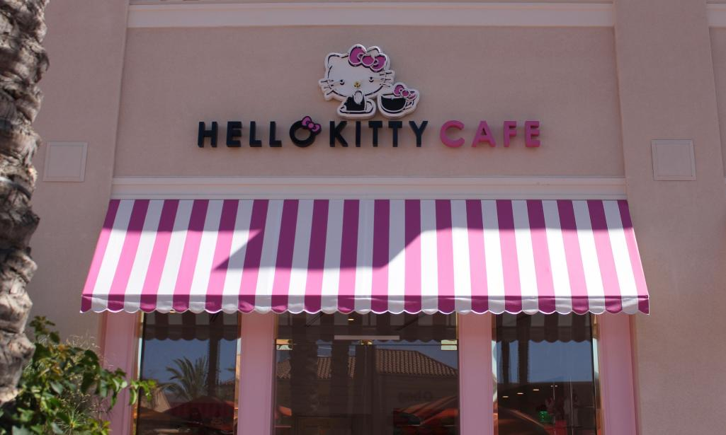 Hello Kitty Grand Cafe Is Now Open At Irvine Spectrum
