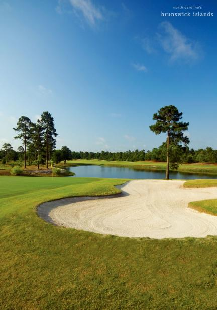 Magnolia Greens Golf Course in Leland, NC.