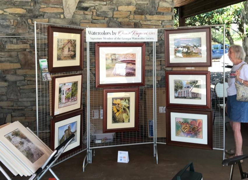 Art in the Park - Local Artists