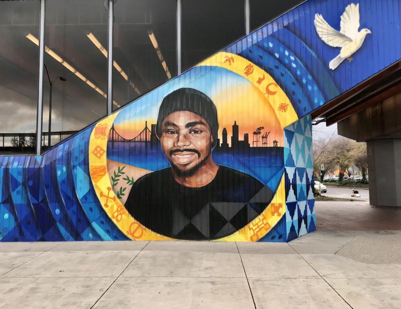 Oscar Grant Mural - Fruitvale