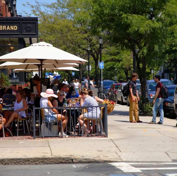 Boston Outdoor Dining Restaurants In Greater Boston Ma