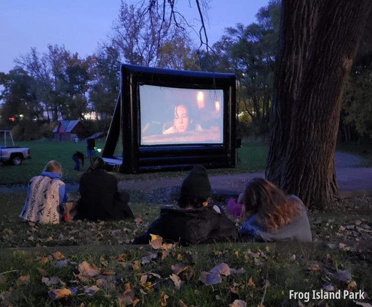 Frog Island Movie in the Park