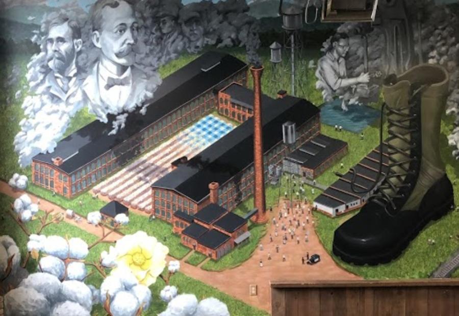 Lowe Mill Mural