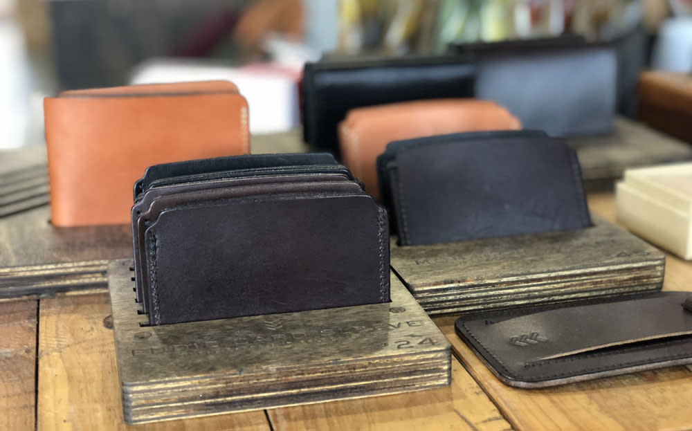 sandlot goods wallet at made in kc
