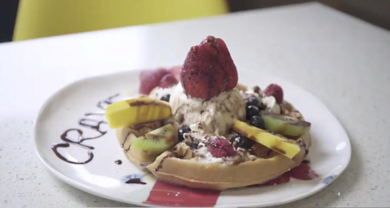 Crave Fruit Waffle