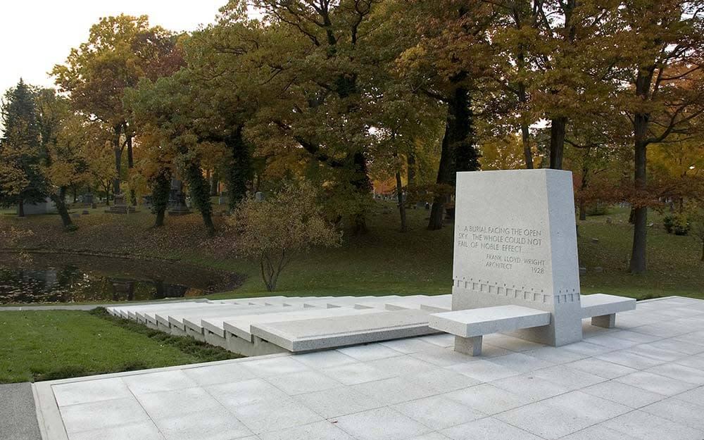 Blue Sky Mausoleum Frank Lloyd Wright