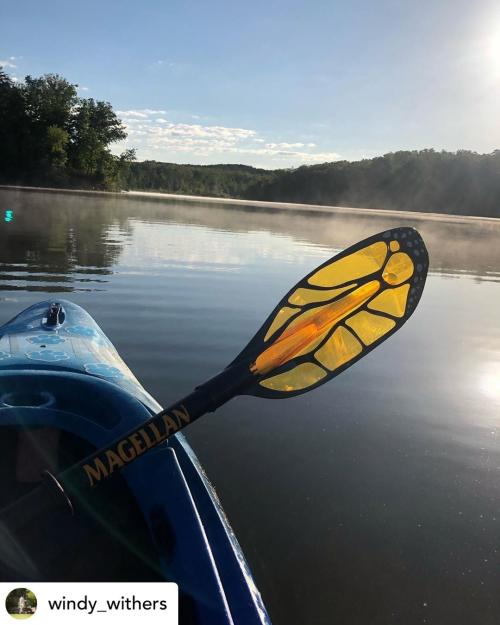 Kayak at Deam Lake windy_withers