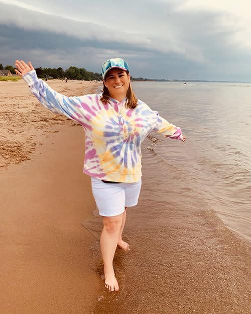 Woman on the Beach - 2020 Photo Contest Winner