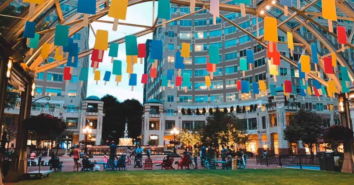 Reston Town Center - Summer