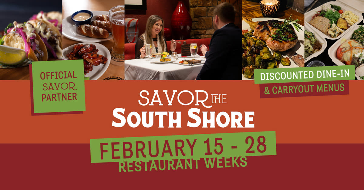 Savor the South Shore Facebook event cover