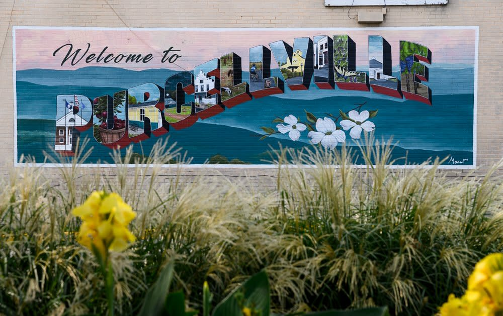 Welcome to Purcellville Wall Mural