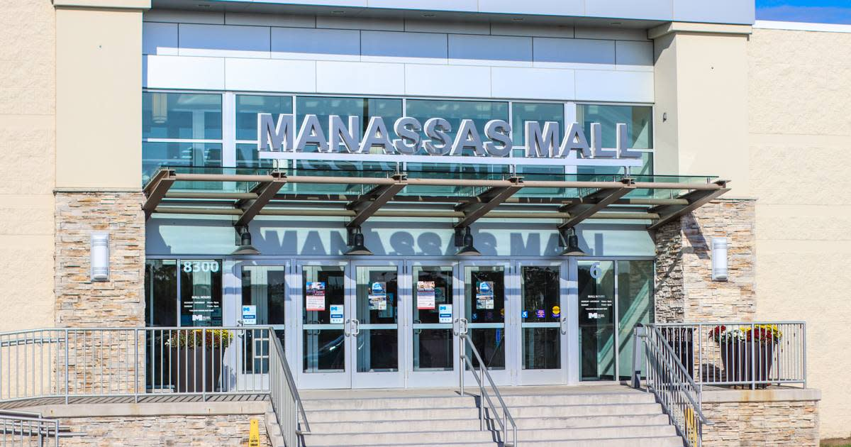 Manassas Mall Exterior