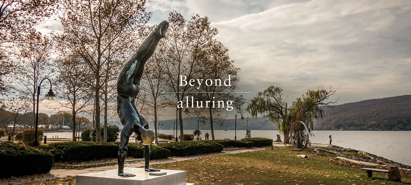 Beyond alluring: Peekskill Riverfront Green Park
