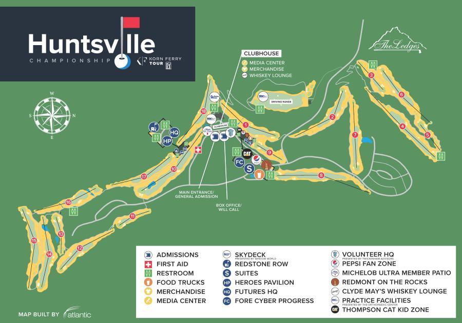 Course Map Huntsville Championship 2021